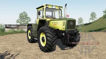 Mercedes-Benz Trac more tire configuration for Farming Simulator 2017