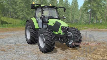 Deutz-Fahr 5110 TTV the choice of wheels for Farming Simulator 2017