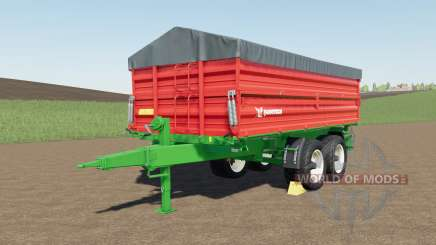 Farmtech TDƘ 1600 for Farming Simulator 2017