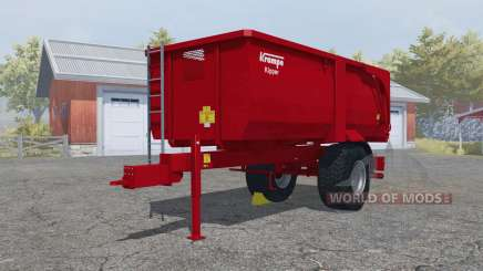 Krampe Big Body 500 E with much larger capacity for Farming Simulator 2013