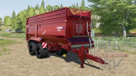 Krampe Bandit 750 XM for Farming Simulator 2017
