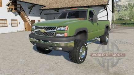 Chevrolet Silverado 2500 HD Regular Cab 2006 for Farming Simulator 2017