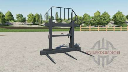 Forks for bales Magsi for Farming Simulator 2017