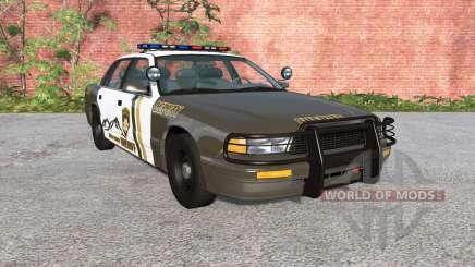 Gavril Grand Marshall Mano County Sheriff for BeamNG Drive
