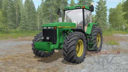 John Deere 8400 anᵭ 8410 for Farming Simulator 2017