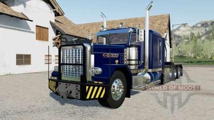 Peterbilt 389 Heavy blue, red, green for Farming Simulator 2017