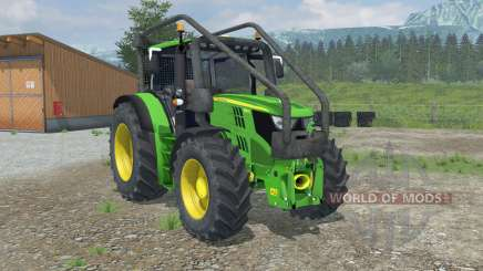 John Deere 6150R Forest Edition for Farming Simulator 2013