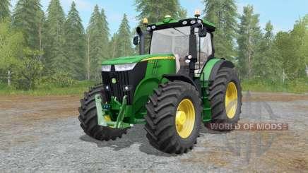 John Deere 7280R&7310R fixed for Farming Simulator 2017