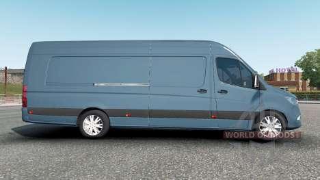 Mercedes-Benz Sprinter VS30 Van 316 CDI 2019 for Euro Truck Simulator 2