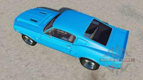Shelby GT500 1968 for Farming Simulator 2017