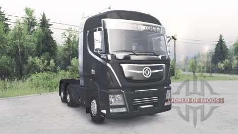 Dongfeng Kingland KX (D760) 2013 v3.0 for Spin Tires