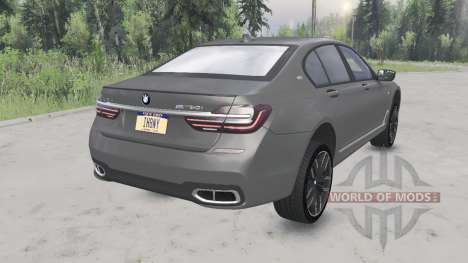 BMW M760i xDrive (G11) 2017 for Spin Tires