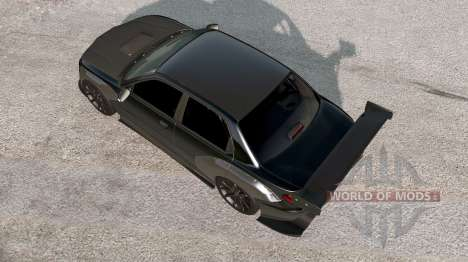 Hirochi Sunburst Black on Black v1.2 for BeamNG Drive