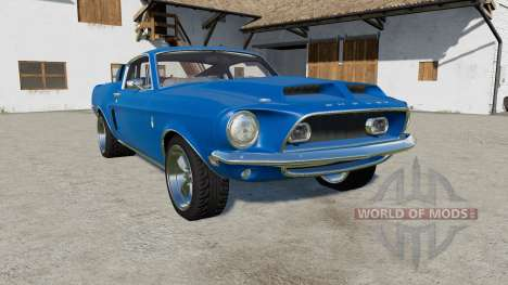 Shelby GT500 1968 for Farming Simulator 2017
