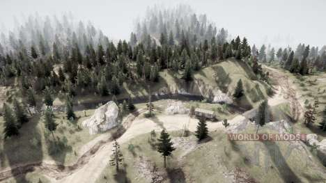 Land of the free v1.1 for Spintires MudRunner