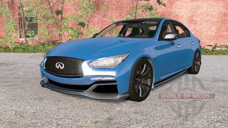 Infiniti Q50 Eau Rouge (V37) 2014 for BeamNG Drive