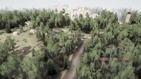 Zelenstroy v2.0 for Spintires MudRunner