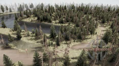 Amfibiy Light for Spintires MudRunner