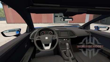 Seat Leon (5F) 2017 for American Truck Simulator