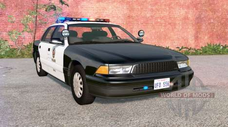 Gavril Grand Marshall LAPD for BeamNG Drive