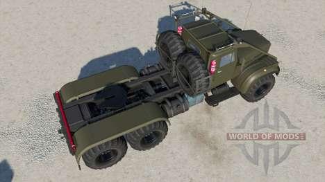 KrAZ-258Б for Farming Simulator 2017