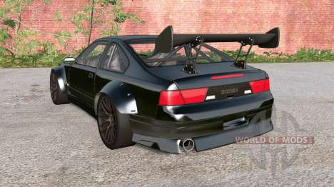 Ibishu 200BX Black on Black v3.0 for BeamNG Drive
