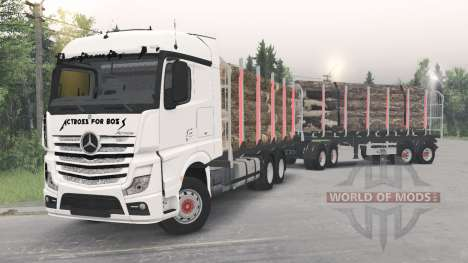 Mercedes-Benz Actros (MP4) for Spin Tires