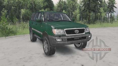 Toyota Land Cruiser 100 VX 2005 v1.2 for Spin Tires