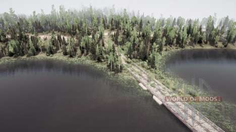 Forest Lakes for Spintires MudRunner
