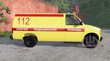 Gavril H-Series Ambulance for BeamNG Drive