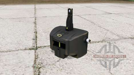 Easymass weights for Farming Simulator 2015