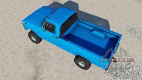 Ford F-250 Styleside Regular Cab 1970 for Farming Simulator 2017