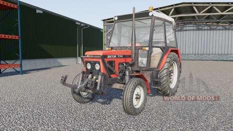 Zetor 7711 for Farming Simulator 2017