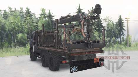 KamAZ-6522 for Spin Tires