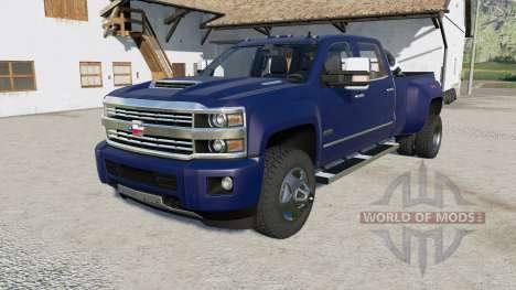 Chevrolet Silverado 3500 HD High Country v3.0 for Farming Simulator 2017