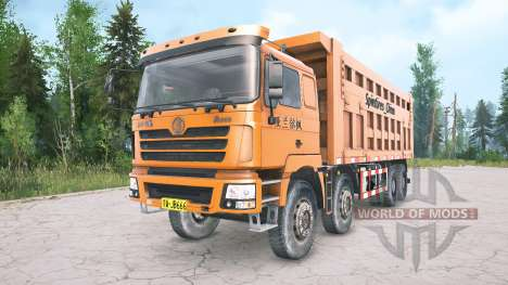 Shacman F3000 four-axle for Spintires MudRunner