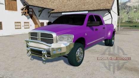 Dodge Ram 3500 Mega Cab 2006 for Farming Simulator 2017