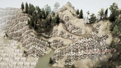 Outside of North for Spintires MudRunner