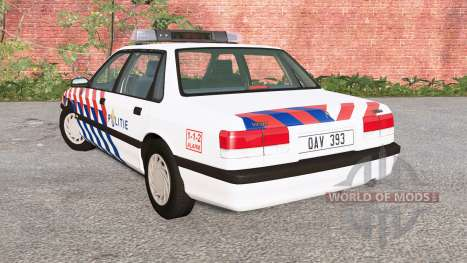 Ibishu Pessima 1988 Dutch Police for BeamNG Drive