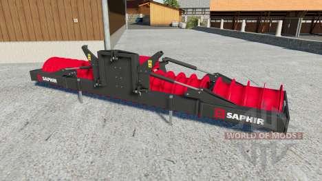 Saphir silowalze for Farming Simulator 2017