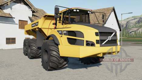 Volvo A40G FS 2014 for Farming Simulator 2017