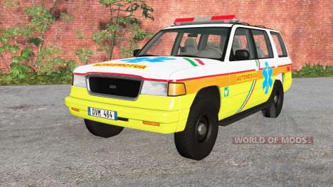 Gavril Roamer Automedica for BeamNG Drive