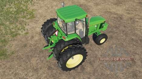John Deere 7000 for Farming Simulator 2017