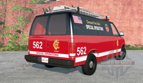 Gavril H-Series Chicago Fire Department v1.2 for BeamNG Drive