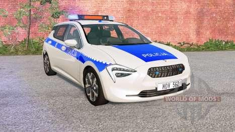 Cherrier FCV Polish Police for BeamNG Drive