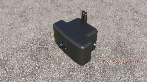 Bemu frontgewicht 1050 kg. for Farming Simulator 2017