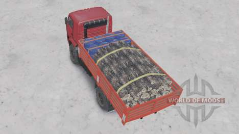 KamAZ-4350 for Spin Tires