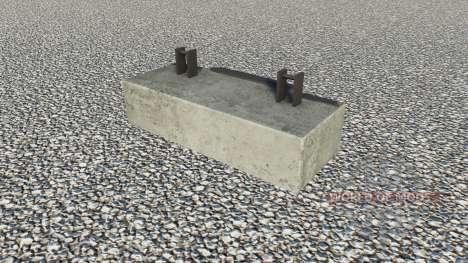 Concrete Weight for Farming Simulator 2017