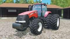 Case IH Magnum 380 CVT rear twin wheels for Farming Simulator 2015