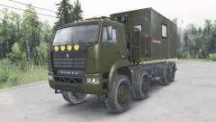 KamAZ-6560 v1.1 for Spin Tires